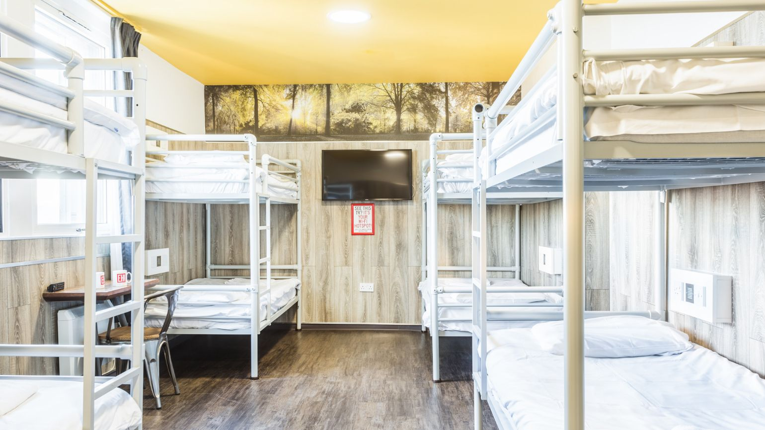 Accommodation at Euro Hostel