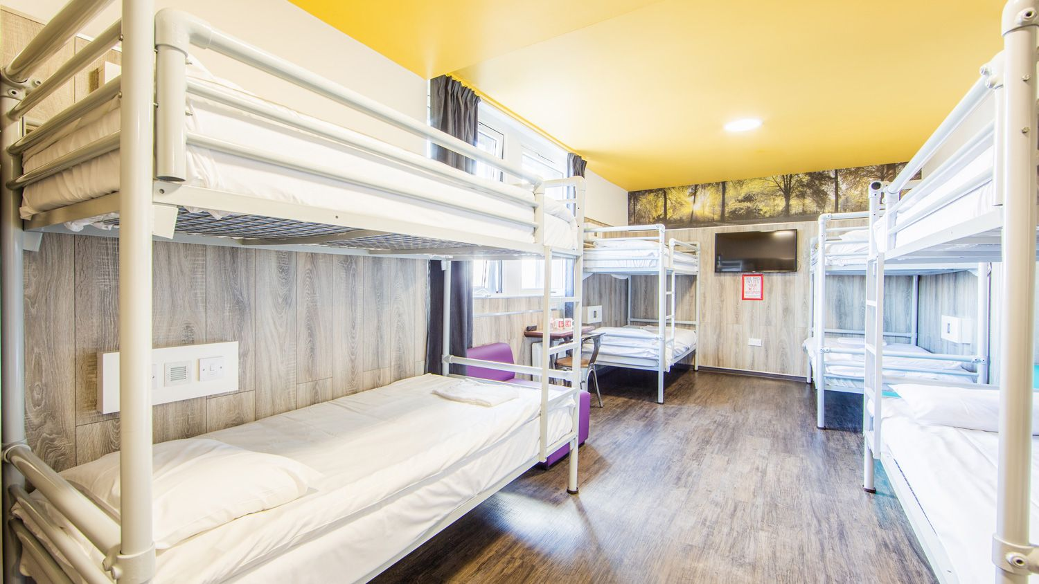 8 Person Private Room at Euro Hostel Glasgow