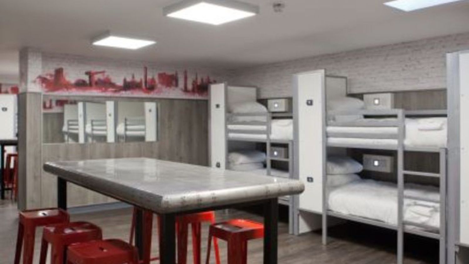 14 Person VIP Suite at Euro Hostel Glasgow