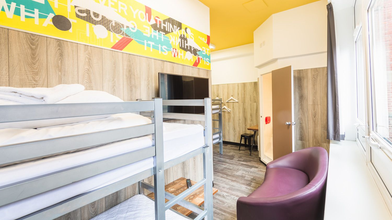 Private Room for 4 People at Euro Hostel Newcastle