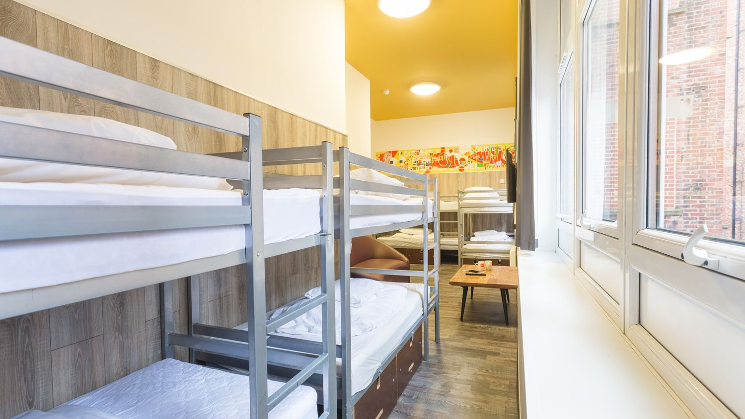 6 Person Mini Suite at Euro Hostel Newcastle