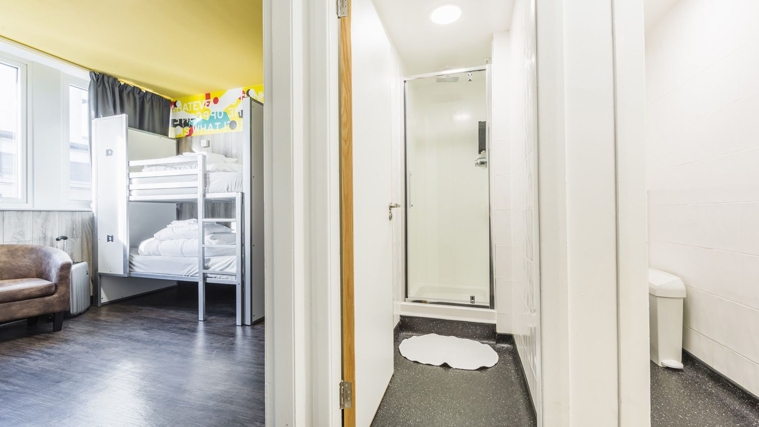 Private Room with Triple Bed at Euro Hostel Glasgow