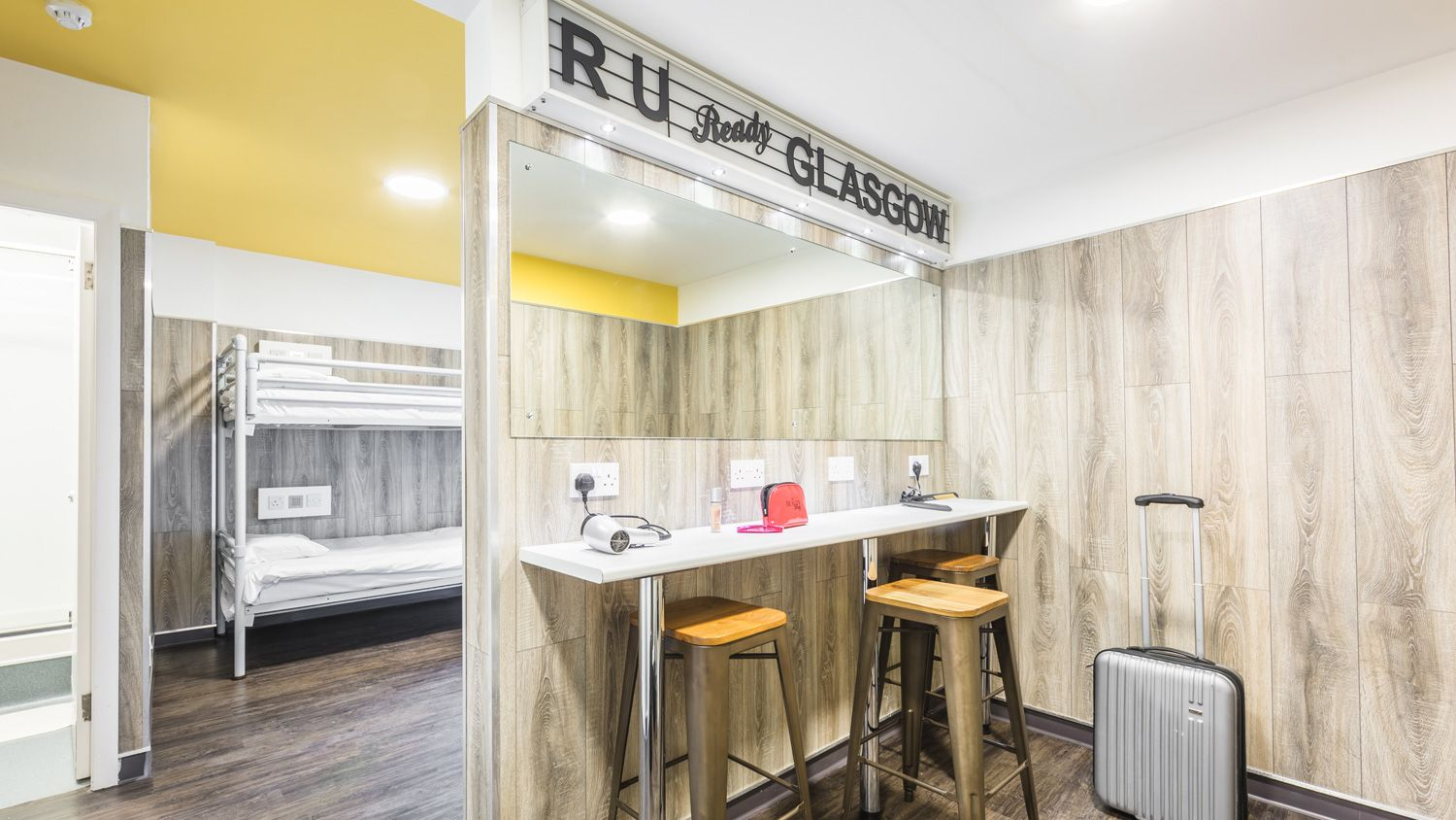 VIP Suite for 8 People at Euro Hostel Glasgow
