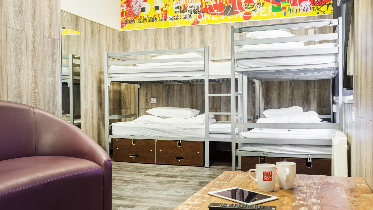 Mini Suite for 6 People at Euro Hostel Newcastle