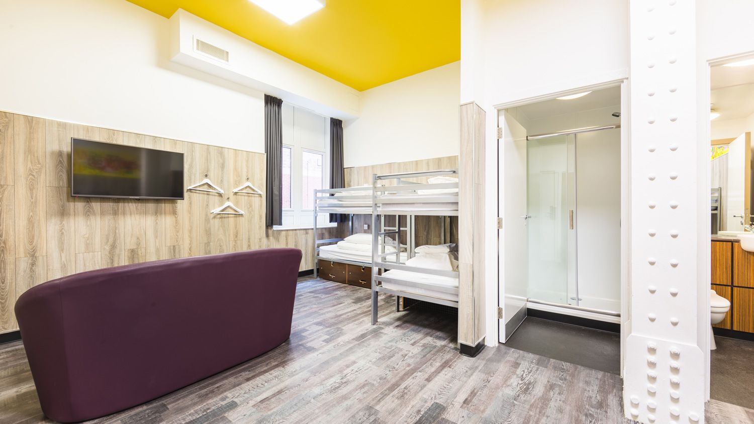 Mini Suite for 8 People at Euro Hostel Newcastle