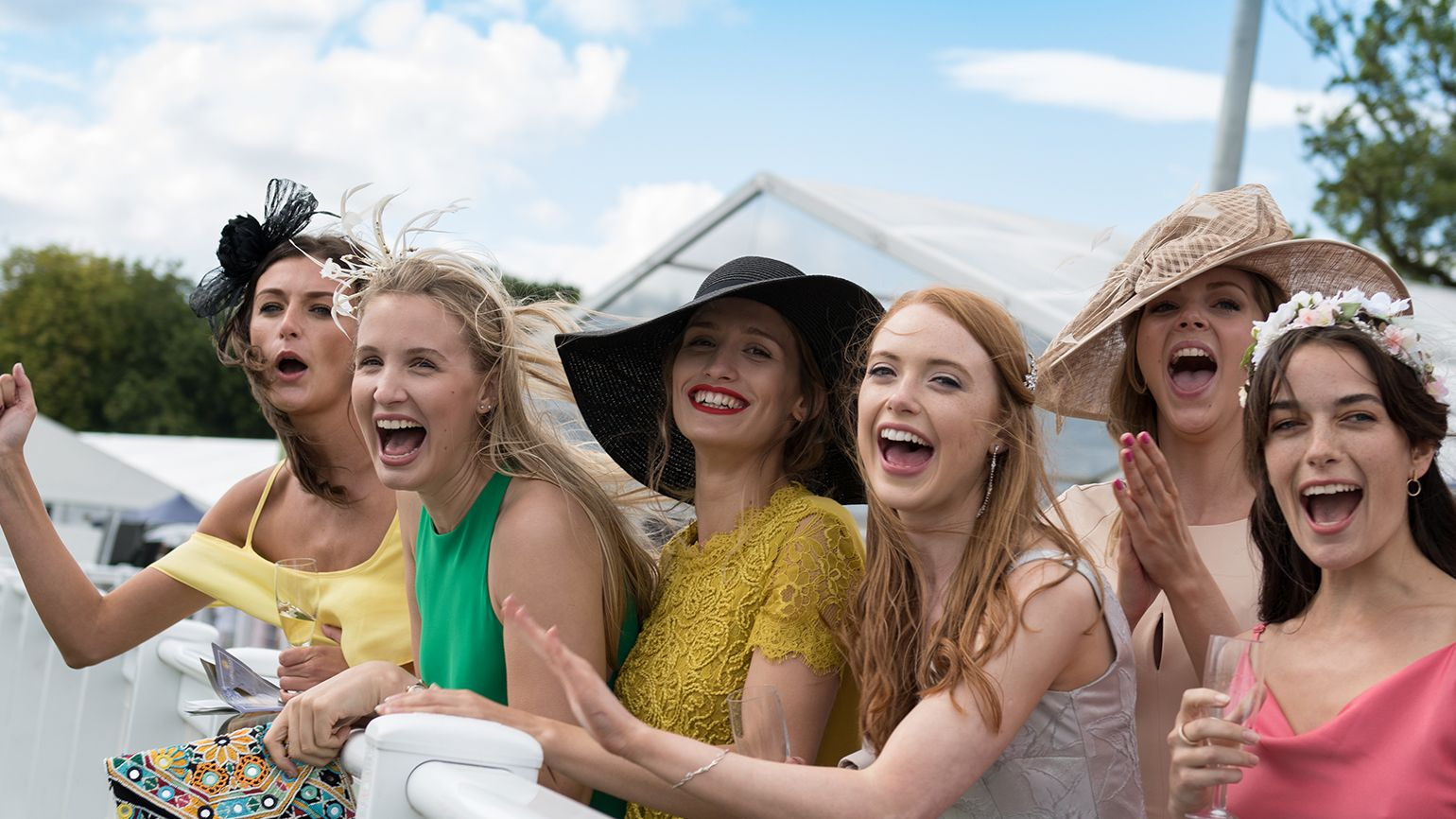 Ladies Day at Newcastle Racecourse