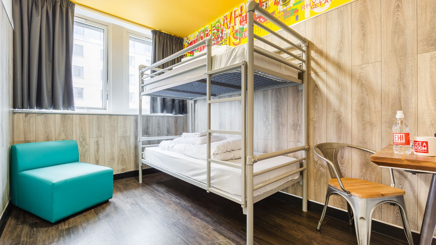 Twin Bed in a Private Room at Euro Hostel Glasgow