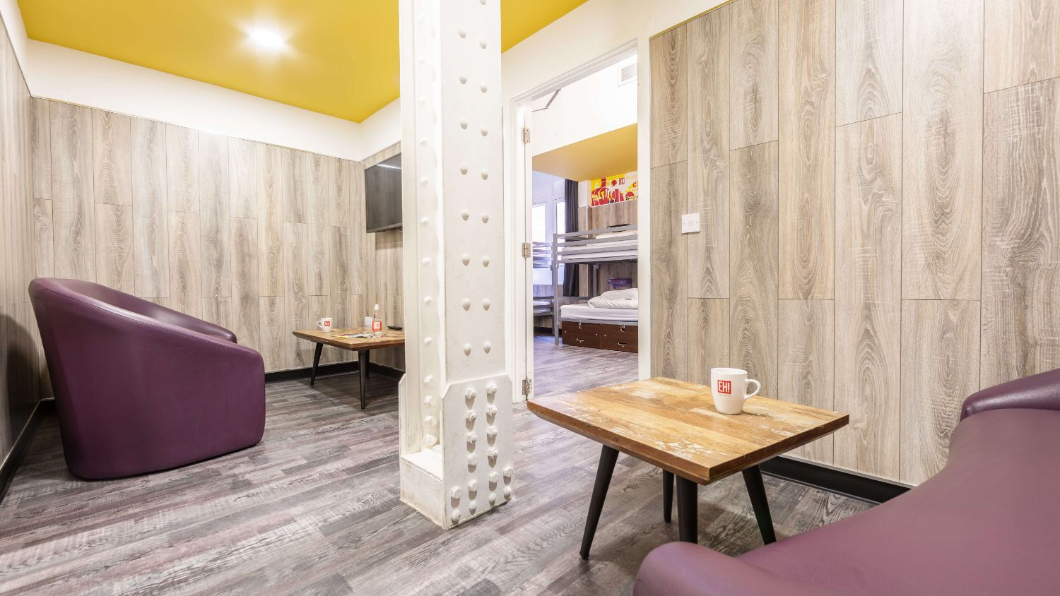 VIP Suite for 14 People at Euro Hostel Newcastle - Lounge Area