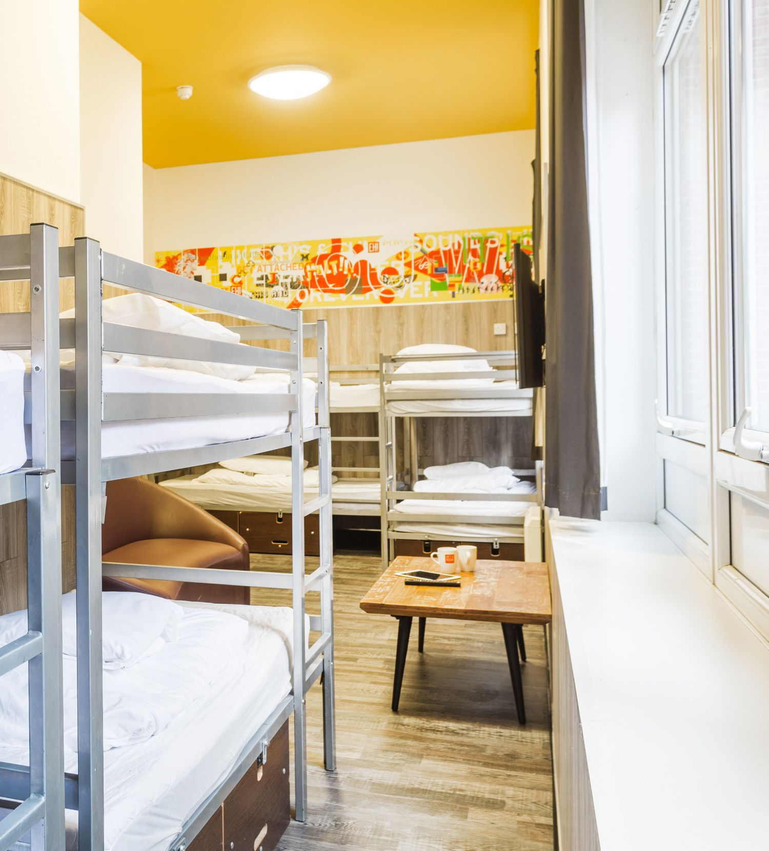 Beds at Euro Hostel Newcastle